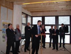 18/12/2010 - inauguration maison ruralité